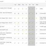 Report-server weekly status