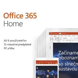 Office 365 Home SK verzia